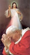 JUAN PABLO II Y JESUS DE LA MISERICORDIA