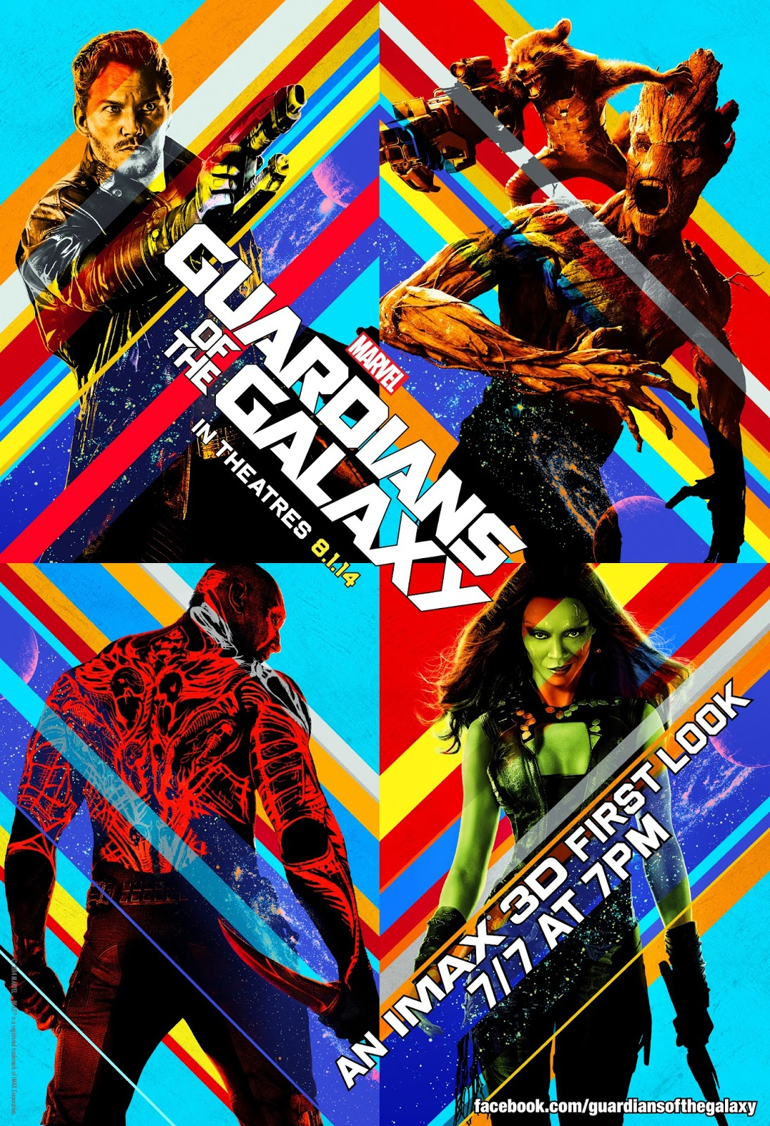 Marvel's Guardian's of the Galaxy IMAX 3D First Look