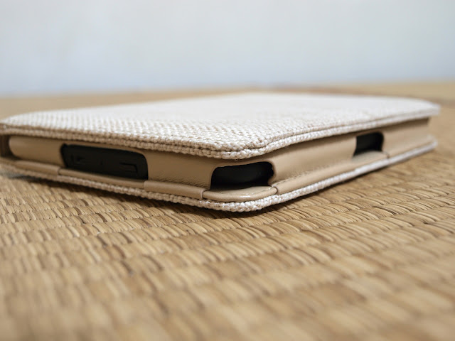 Kindle Paperwhite 亞馬遜電子書閱讀器二代帆布保護套(具自動休眠功能)