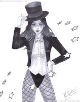 Zatanna by W. Scott Forbes (2011)