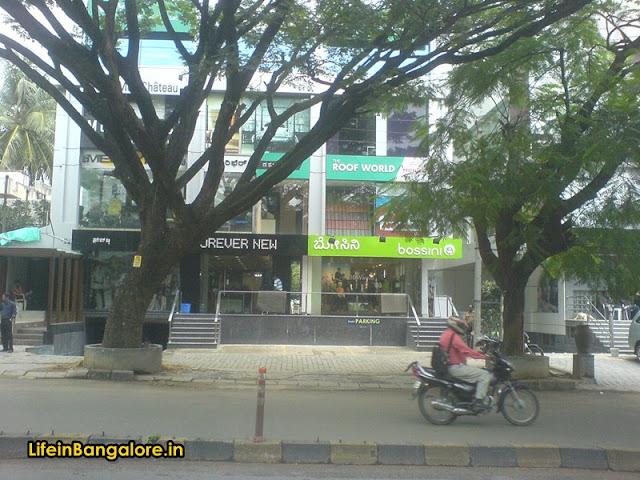 Bossini Indiranagar 100ft road