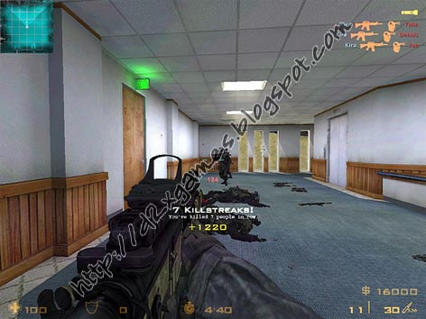Free Download Games - Counter Strike Modern Warfare 2