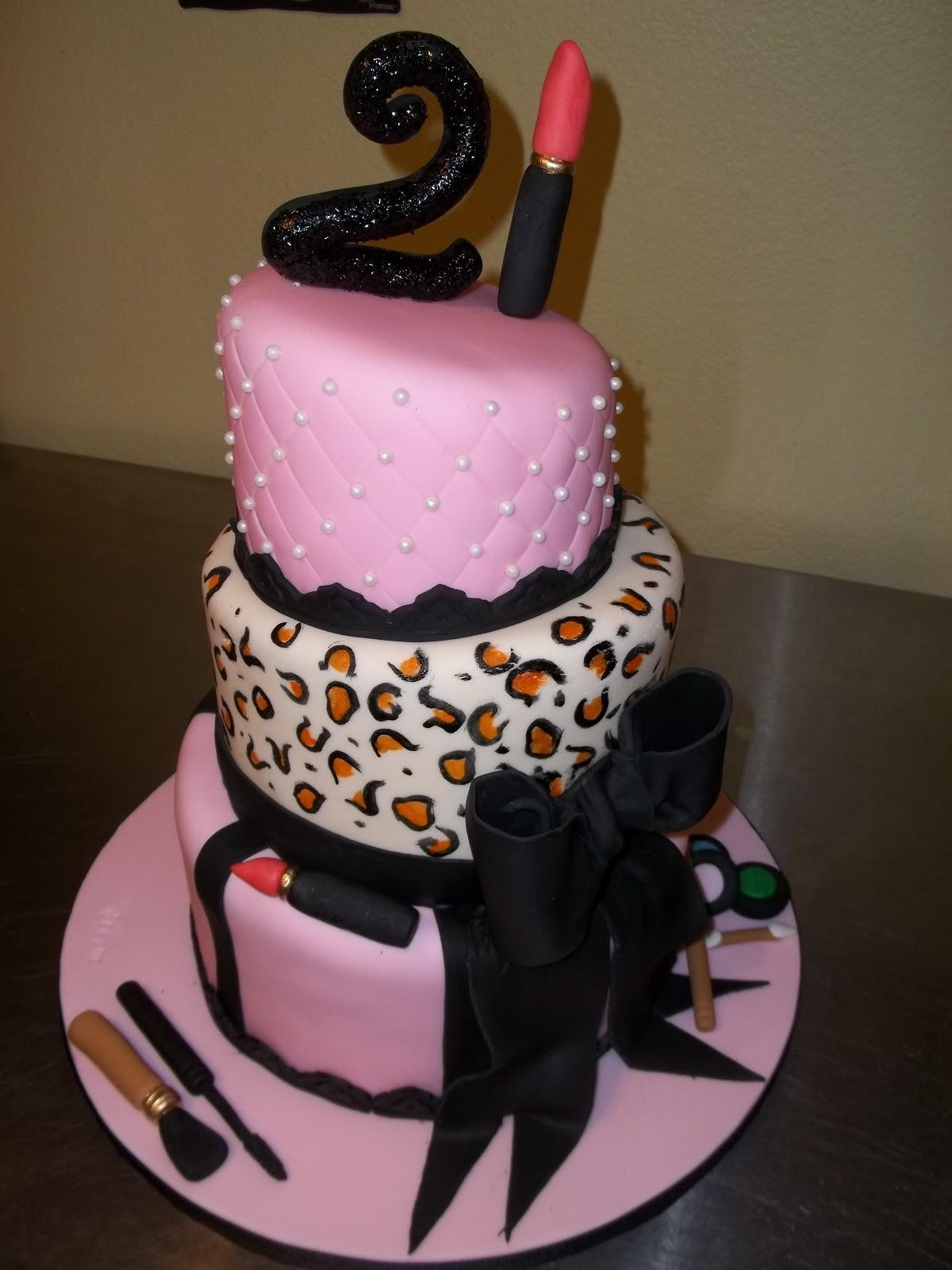 The Sin City Mad Baker Lesleys 21st Birthday Cake