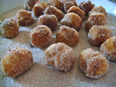 Mini farm stand buttermilk doughnut holes