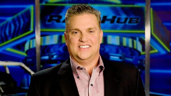 Fox Sports' Steve Byrnes, who only in January returned to work after ...