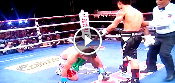 Mark Magsayo's BRUTAL Knockout Of Mexican Rafael Reyes (VIDEO) Pinoy Pride 31