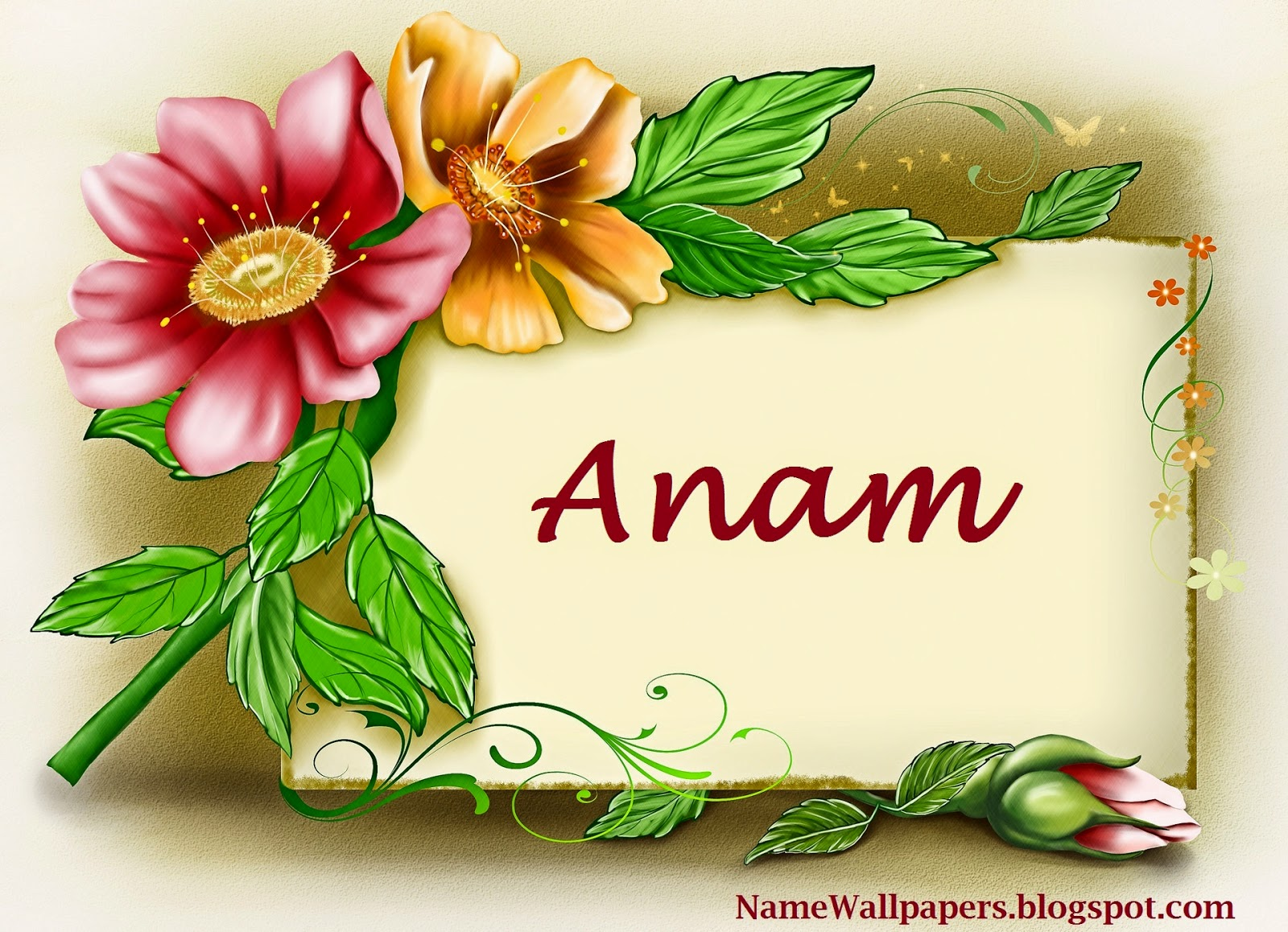 S M Name Wallpaper Anam Name Wallpapers A...