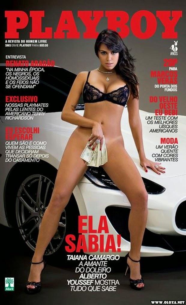 Playboy de Janeiro – Taiana Camargo – ex amante do Youssef