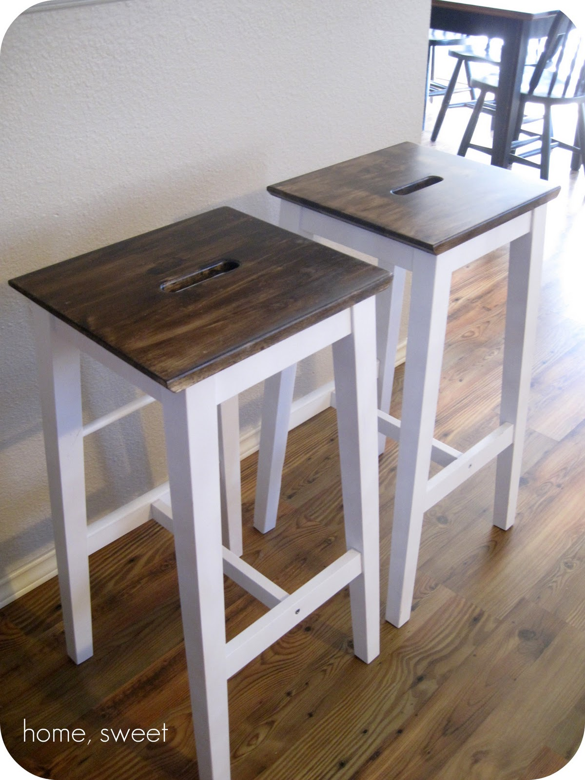 Full Image For White Leather Bar Stools With Nailhead Trim Ikea ...