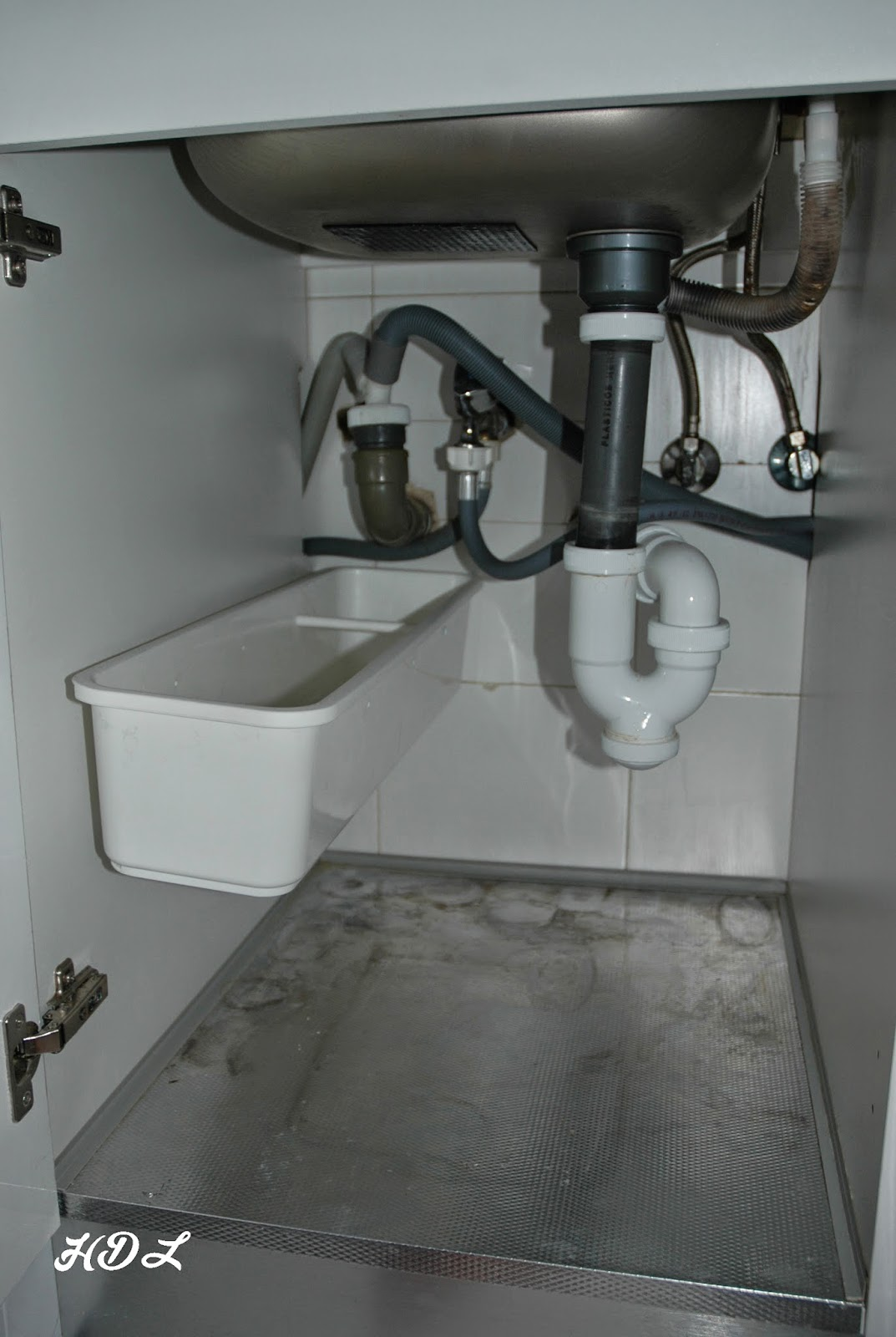 Hogar dulce y limpio limpieza profunda de la cocina - Instalar un lavavajillas al fregadero ...