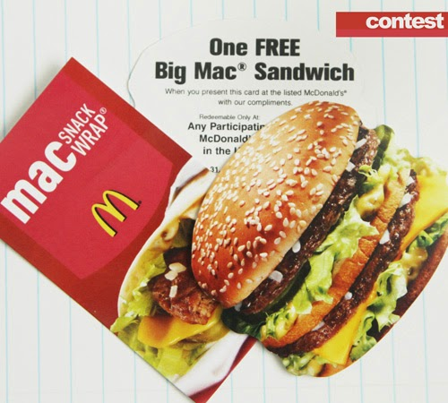 Mcdonalds december coupons