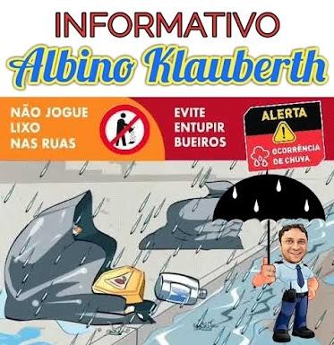 INFOMATIVO - ALBINO KLAUBERTH