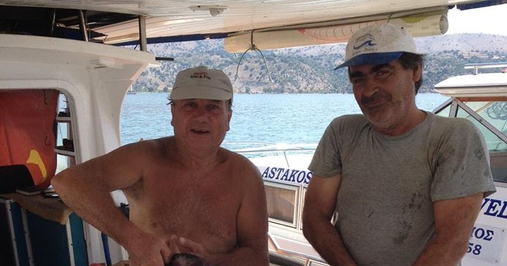 Αποτέλεσμα εικόνας για προεδρος Αλιεων Αστακου Σπυρος Κουναδης