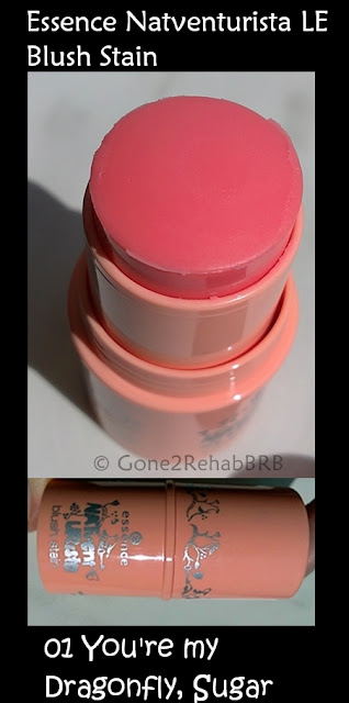 Essence LE Natventurista blush stain 01 You're My Dragonfly swatches