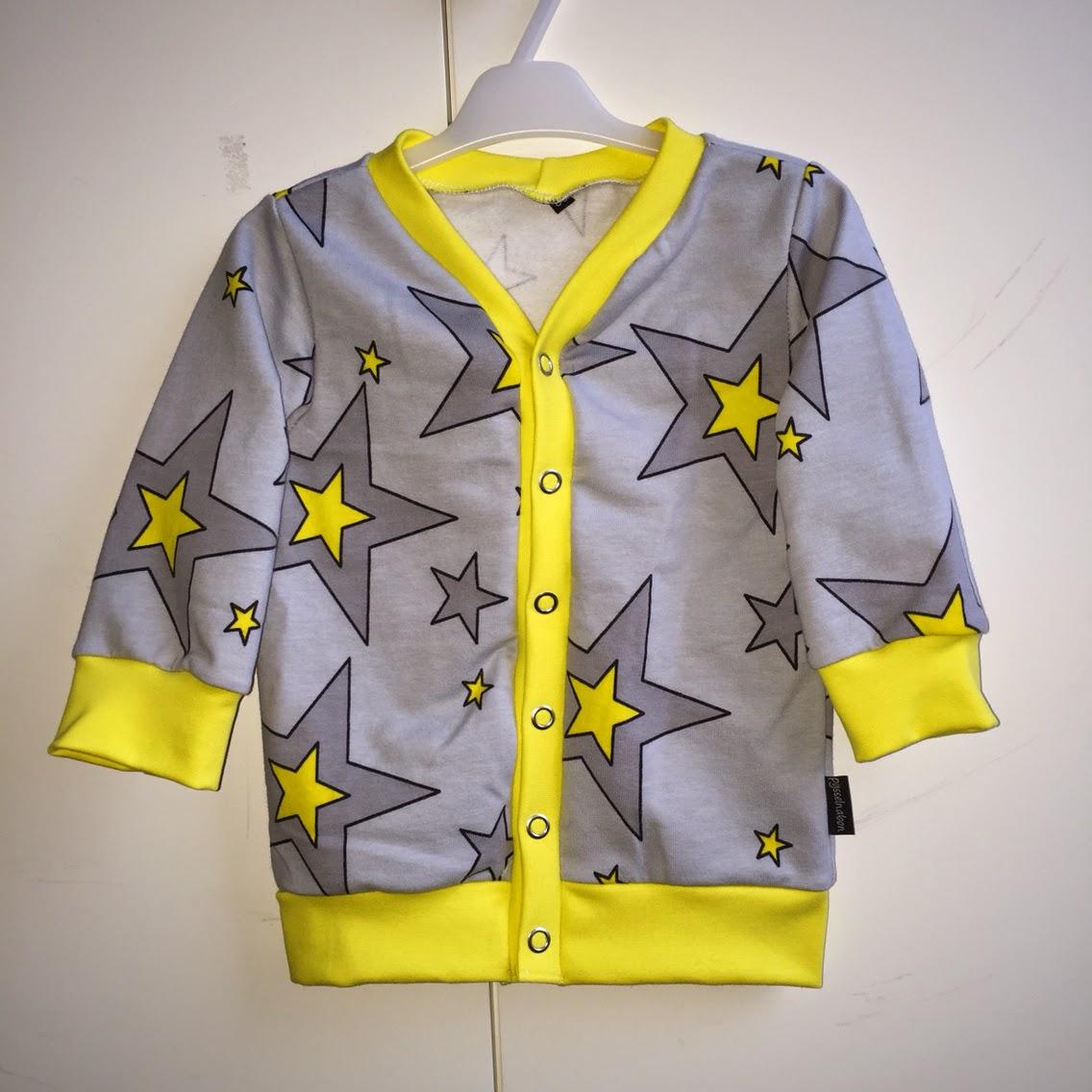 sy kofta barn college tröja barnkläder