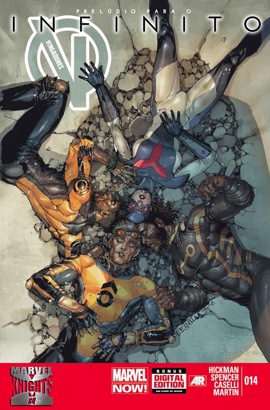 Nova Marvel! Vingadores v5 #14