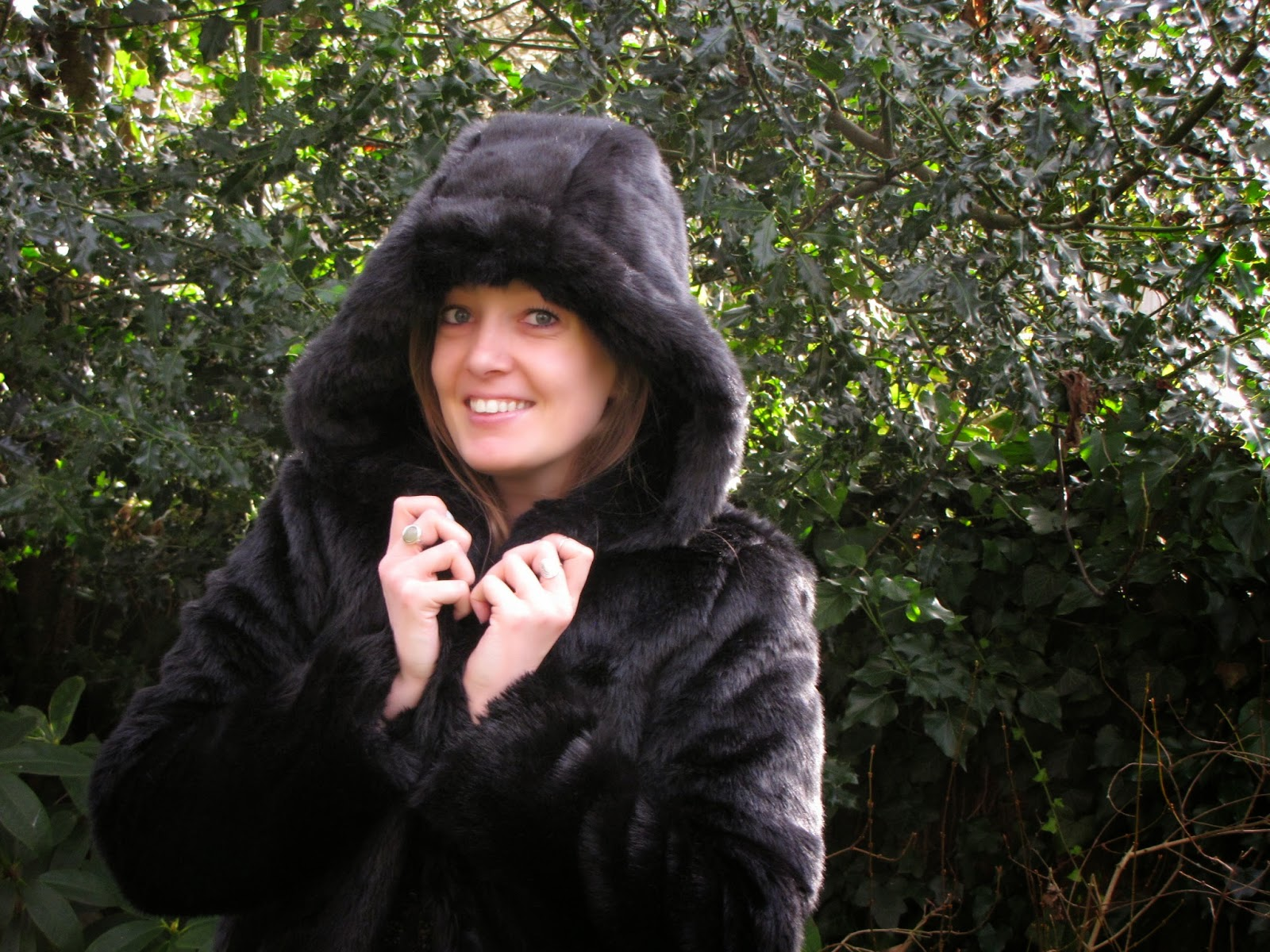 black-fur-coat