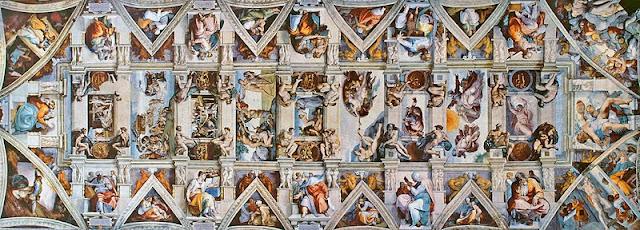 Michelangelo's Sistine Chapel Ceiling
