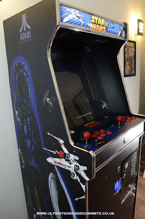 star wars arcade machine atari style