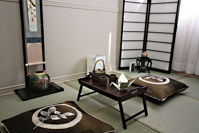 Inspiring Home Design: Japan Traditional Interior Design Living Room
