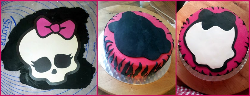 monster high kuchen backen