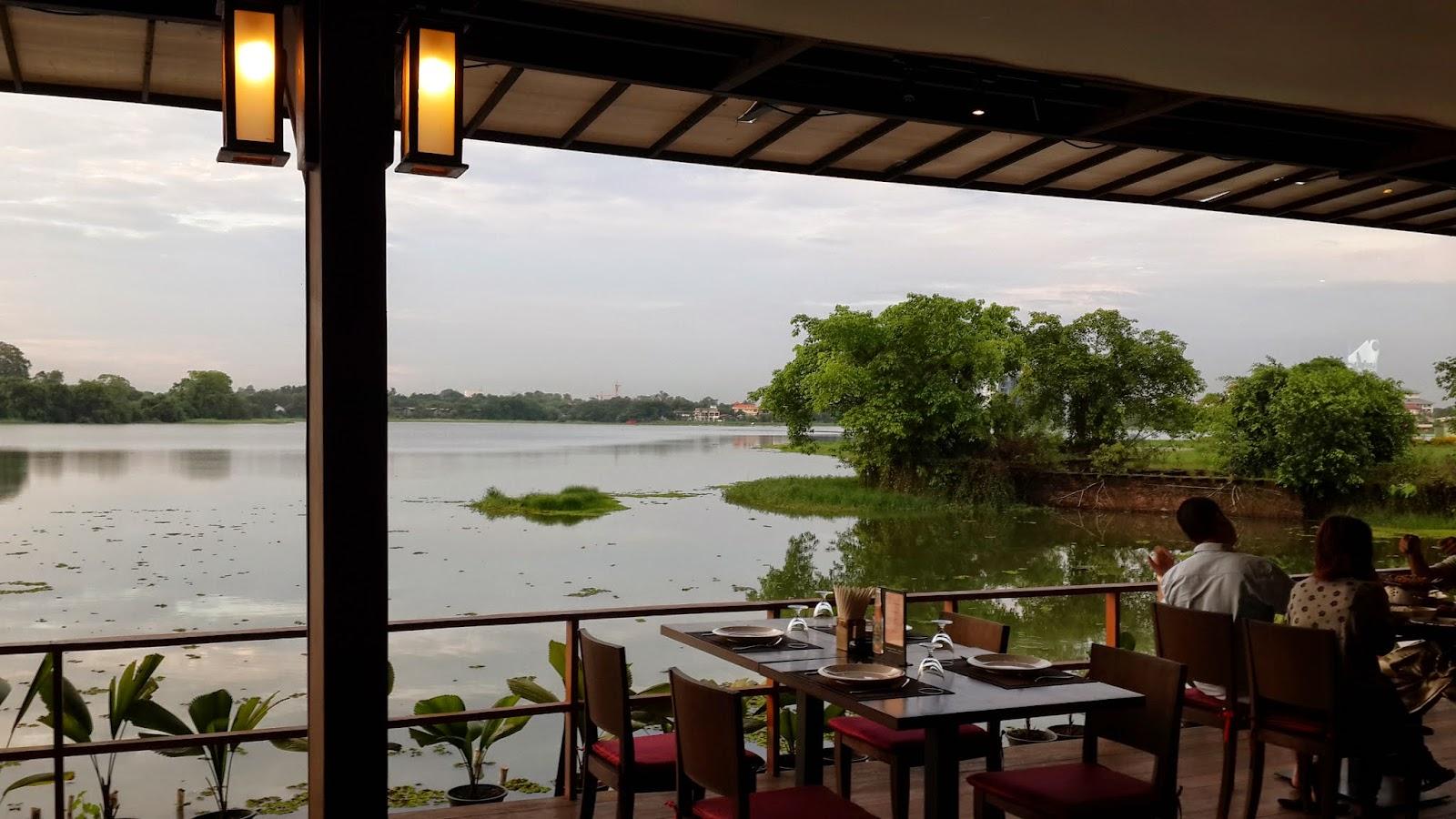 Lake view @Sabai Restaurant