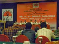 Akbar Tanjung Dipasangkan dengan Prabowo