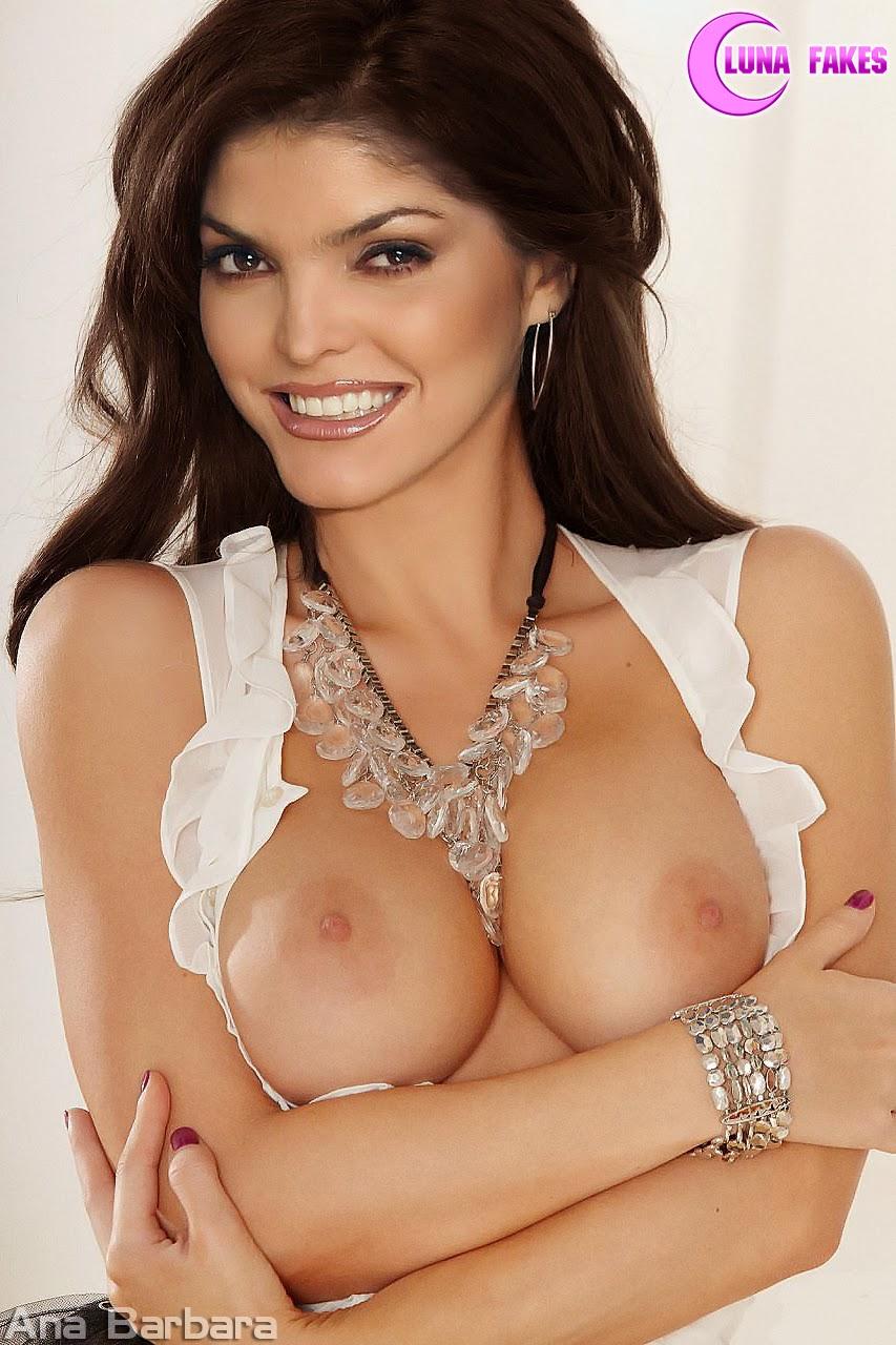 Ana Barbara Nude Fake