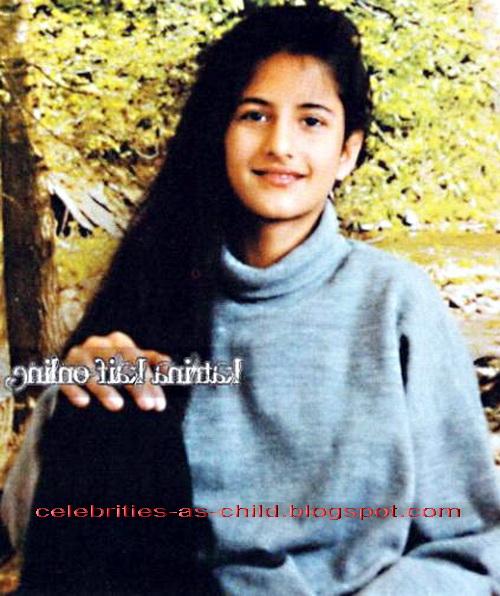 Celebrities As A Child: katrina kaif childhood photos Childhood Pics Of Katrina Kaif With Her Family
