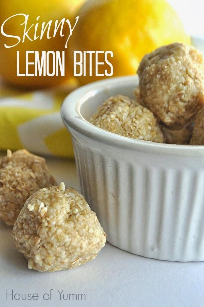skinny lemon bites
