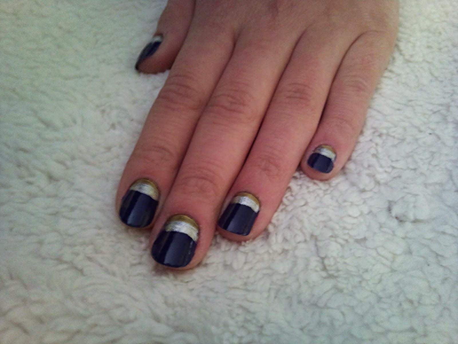 Modrá, zlatá a strieborná :)