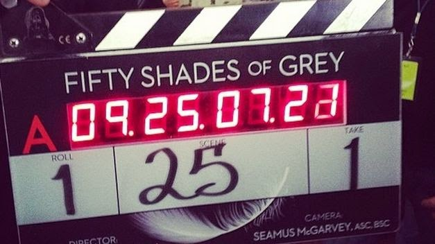 Rodaje Cincuenta Sombras de Grey fifty shades of grey e.l.james dakota johnson jamie dornan