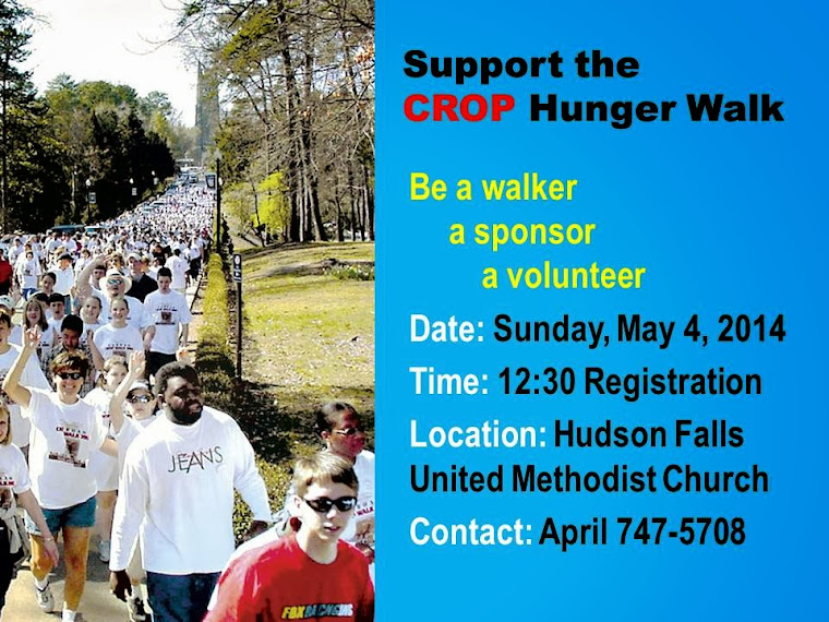 SUPPORT CROP HUNGER WALK