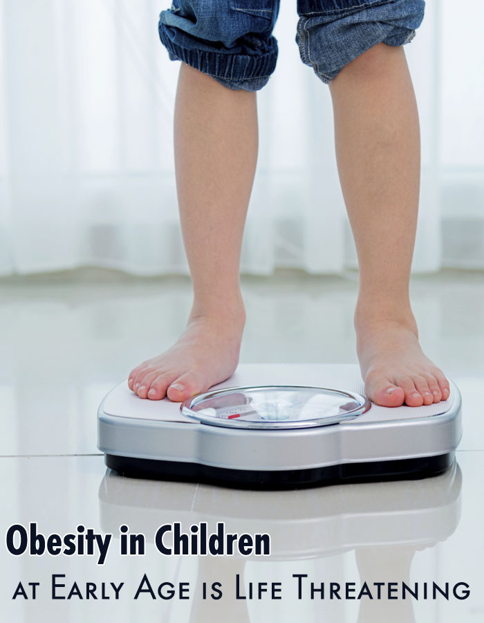 Obesity in Children at Early Age is Life-Threatening