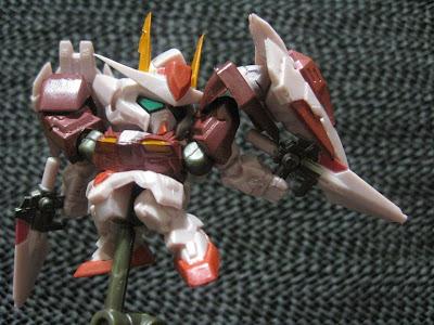 ガシャポン戦士Next リアルタイプカラー02:ダブルオーライザー(トランザムカラーver.)