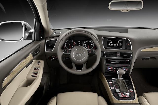 2013 Audi Q5 Facelift - interiors