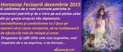 Horoscop Fecioară decembrie 2015