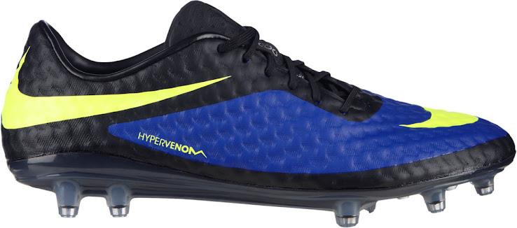Nike Hypervenom Blau / Gelb