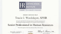 Professional In Human Resources - Professional Human Resources Certificate