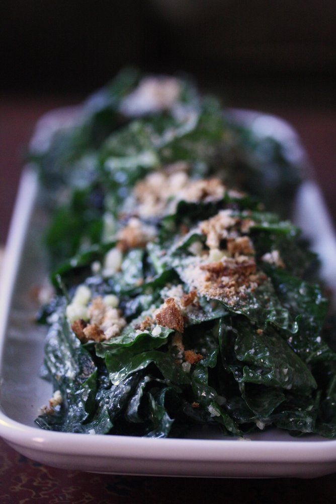 CUP OF JO: The Best Kale Caesar Salad You'll Ever Have