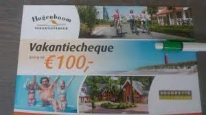 www.vakantiegevoel.nl/decorette vakantiecheque 100 euro