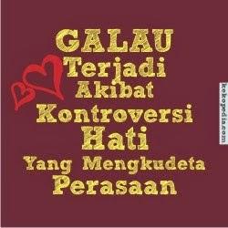 DP BBM Galau