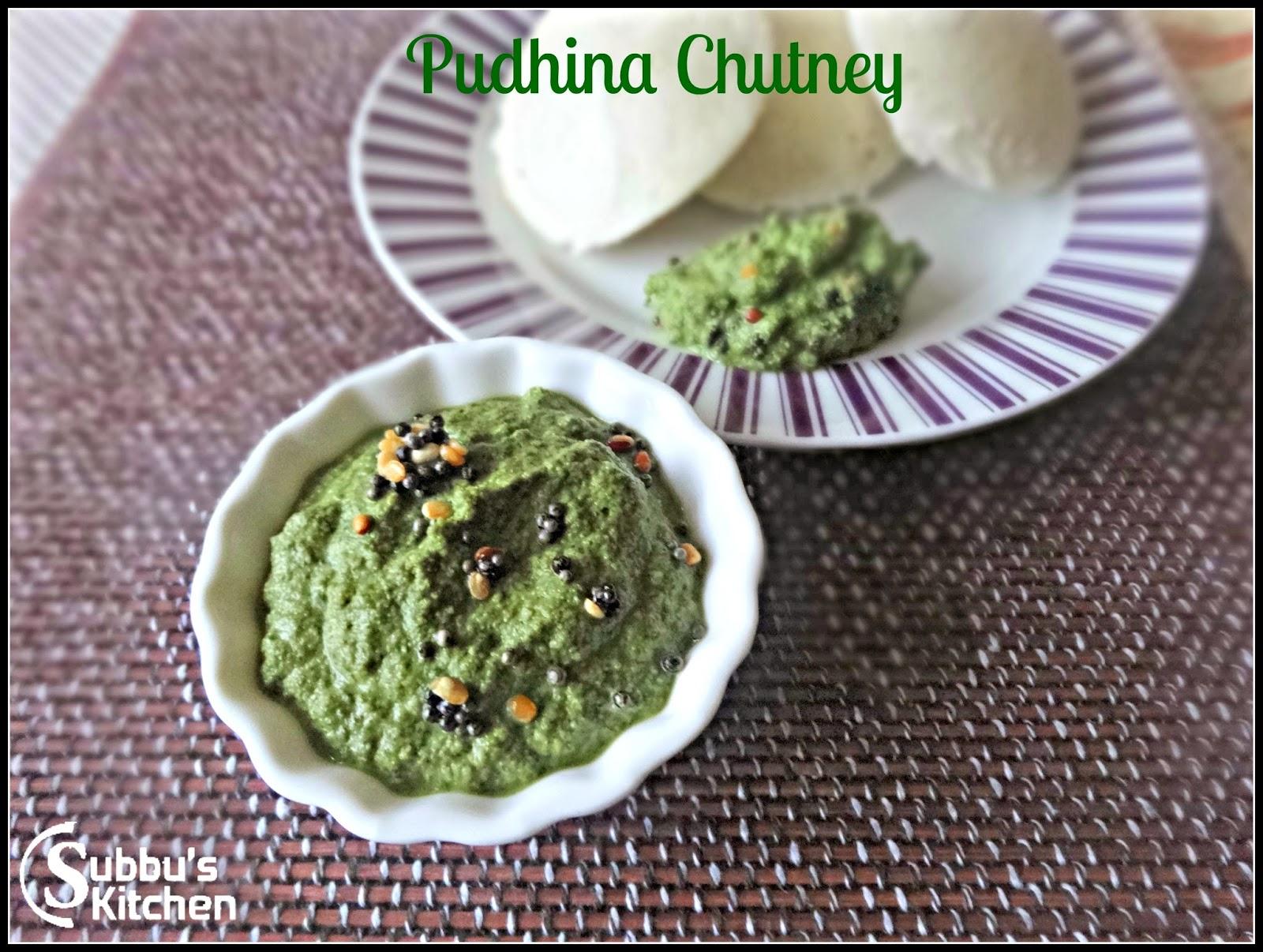 Pudina (Mint) Chutney
