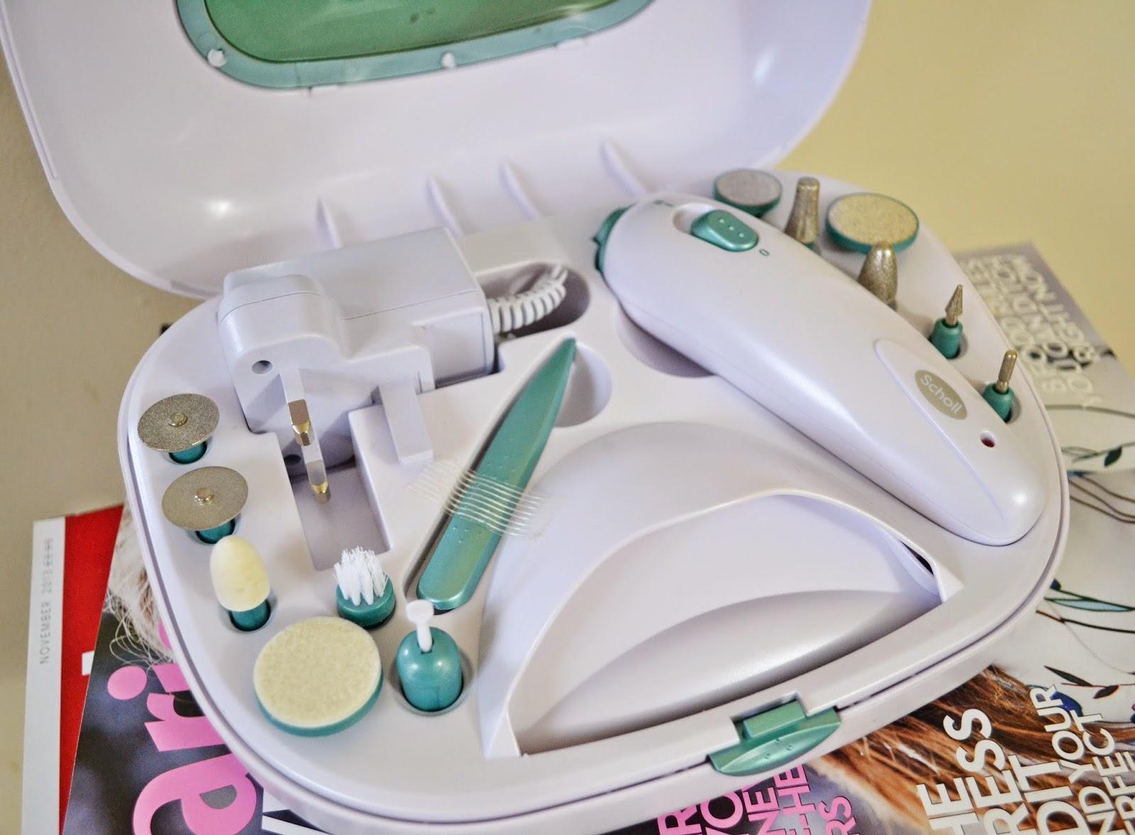 Scholl Manicure Pedicure Nail Beauty Set   Christmas Gift Guide #1 - Aspiring Londoner