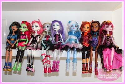Coleção de Bonecas Monster High
