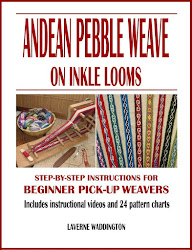 New from Laverne Waddington! Instructions for Andean Pebble Weave on an Inkle Loom!