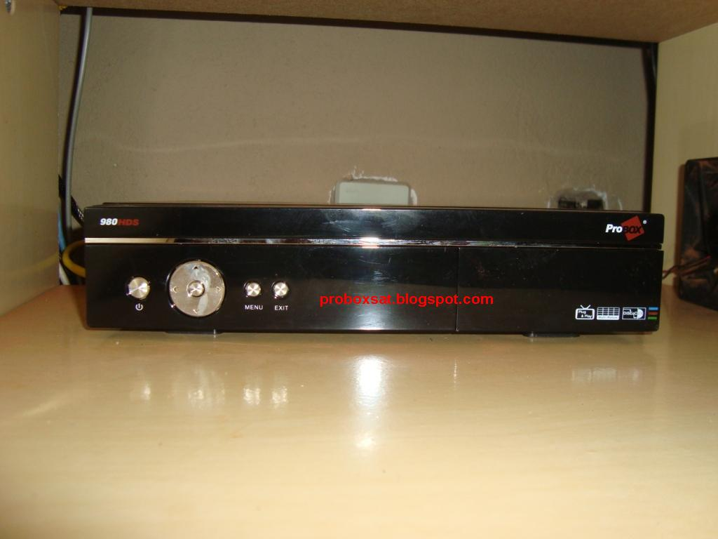PROBOX 980 HDS PVR HDMI 2V PAINEL+FRONTAL+980