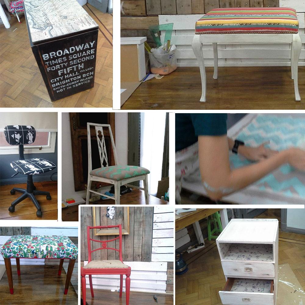 Cuchita bacana talleres de reciclado de muebles y tapicer a - Reciclado de muebles ...