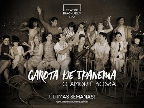 Teatro: Garota de Ipanema - O amor é bossa