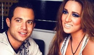 На фото: греческая певица Каломира и её муж